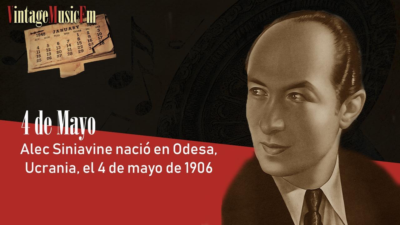 Alec Siniavine nació en Odesa, Ucrania, el 4 de mayo de 1906