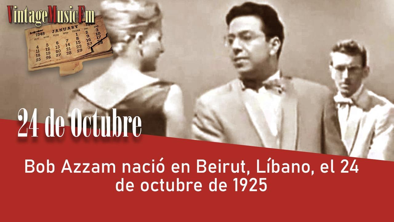 Bob Azzam nació en Beirut, Líbano, el 24 de octubre de 1925