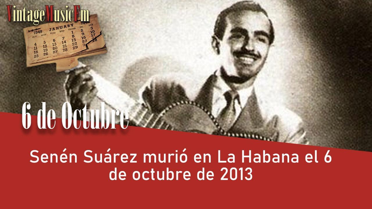 Senén Suárez murió en La Habana el 6 de octubre de 2013