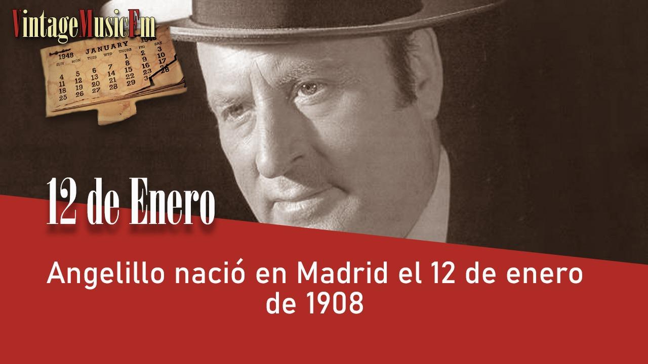 Angelillo nació en Madrid el 12 de enero de 1908
