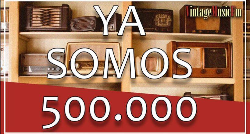 500.000 GRACIAS!!!!!