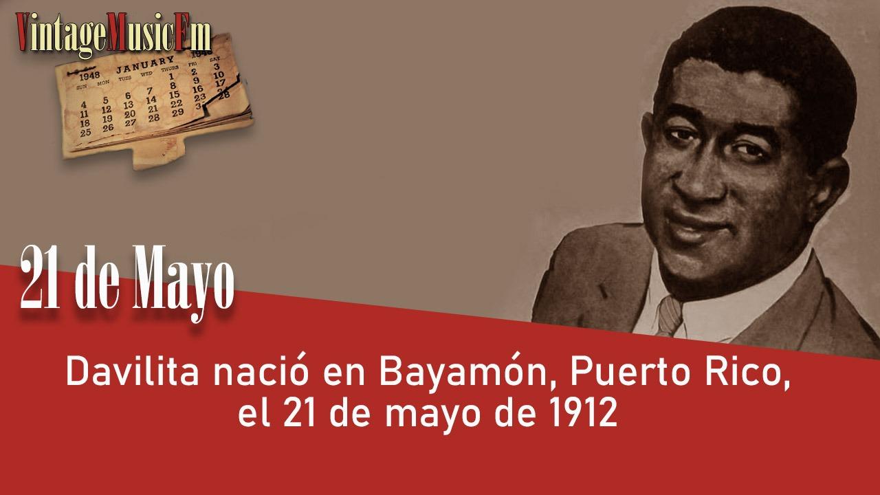 Davilita nació en Bayamón, Puerto Rico, el 21 de mayo de 1912